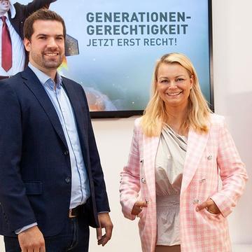 Christiane Holzinger und Dominik Jenewein