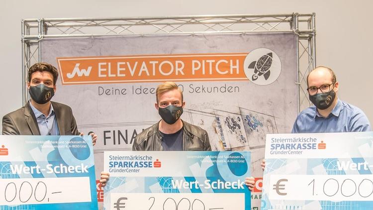 Die Sieger des Elevator Pitch 2020