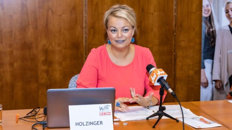 JW Bundesvorsitzende Christiane Holzinger