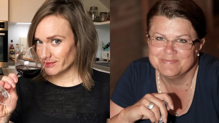 Foto zeigt Gabriele Klima und Ana Povše
