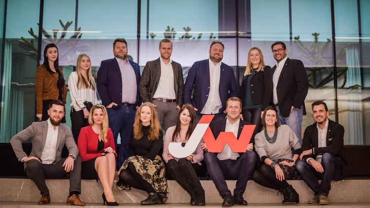 Hannes Buchhauser, Landesvorsitzender und sein Landesvorstands-Team aus der Steiermark sowie das Büro der JW setzen sich für Jungunternehmer ein.